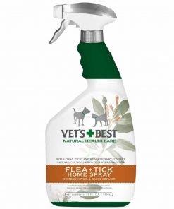 Vet's Best Natural Flea + Tick Home Spray, 32 oz pack of 2