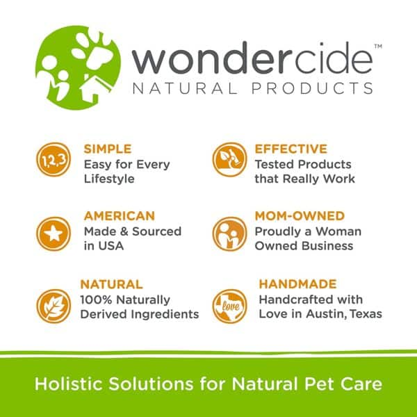 Wondercide Flea and Tick and Mosquito Control Spray for Cats Dogs and Home