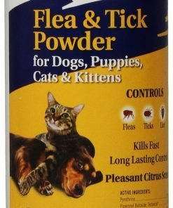Zodiac Flea And Tick Powder For Dogs, Puppies, Cats, And Kittens, 6-ounce