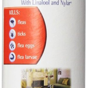 Adams Carpet Powder With Linolool And Nylar 16 oz Kills Fleas Ticks All 4 Stages