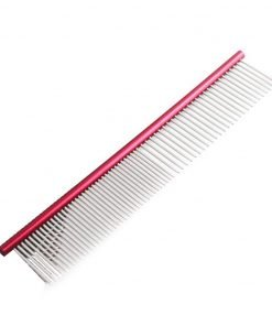 Fabal 19cm Pet Comb Professional Steel Grooming Comb Cleaning Brush