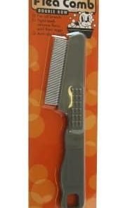 GoGo Pet Products Deluxe Cat And Dog Flea Double Row Pet Grooming Comb By GoGo Pet Products