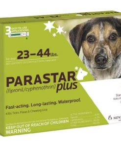 Novartis Parastar Plus, Green, 23-44 lbs, 3pk