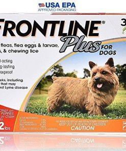 Frontline Plus Dog 0-22 lb - 3 doses (Quantity of 1)