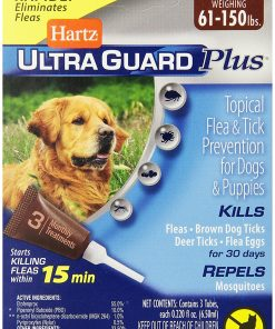Hartz UltraGuard Plus Flea And Tick Drops For Dogs And Puppies