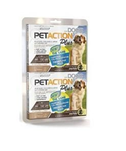 PetAction Plus For Dogs, 6 Doses Extra Large Dogs 89-132 Lbs.