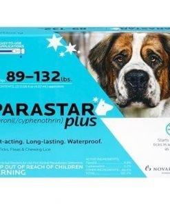 Parastar Plus 3pk 89-132lb Flea And Tick By Novartis By Novartis