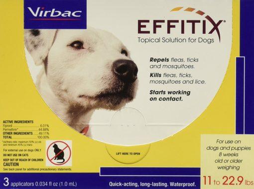 Virbac Effitix Flea/Tick Topical Solution