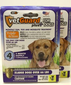 Vetguard Plus For Dogs 8 Month Supply (in 2 Pak)