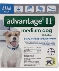 Advantage II For Dogs 11-20 lbs - (4 month supply)