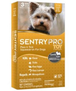 Sentry PRO Toy-Small Breed Flea And Tick for Dogs - 3 ct - 2 ml