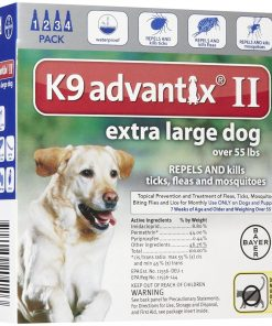 Bayer Animal Health K9 Advantix II Extra Large Dog 4-Pack