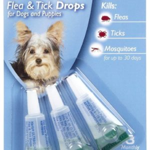 UltraGuard Flea And Tick Treatment Drops For Dogs And Puppies