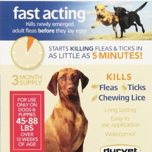 Durvet Spectra Sure PLUS Flea Treatment For 45 to 88-Pound Dogs