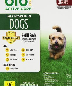 Bio Spot Active Care Flea And Tick Spot On For Small Dogs (5-14 lbs.) 3 Month Refill