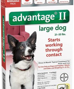 Advantage II Large Dog 6-Pack