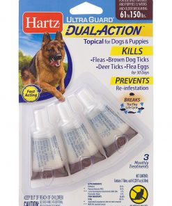 HARTZ Ultra Guard Dual Action Drops For Dogs And Puppies, 61+ lb