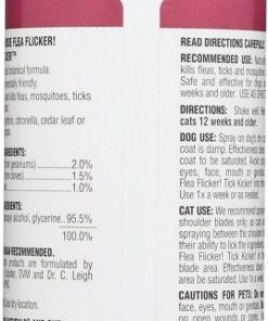 ARK Naturals PRODUCTS For PETS 326022 Flea Flicker Tick Kicker, 8-Ounce