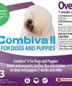 Combiva II For Dogs And Puppies, Over 55 lbs, By Combiva