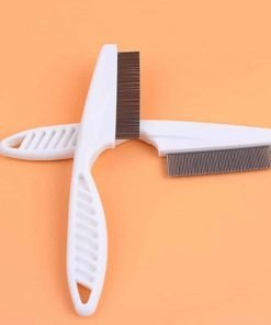 BargainRollBack Flea and Debris Groomer Comb Dog Pet Cat Fine Toothed Grooming (Ships From USA)
