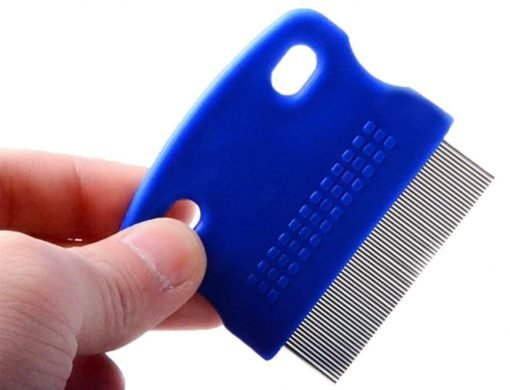 Zeroyoyo 3pcs Pet Supply Dog Puppy Cat Flea Cleaning Comb Stainless Steel Needle Grooming Tool, Color Random