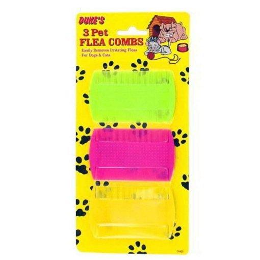 72 Pet Flea Combs