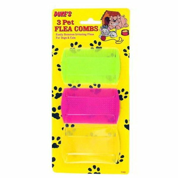 96 Pet Flea Combs