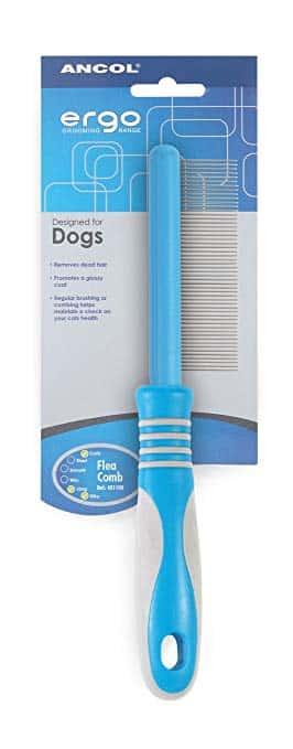 Ancol Ergo Plast Flea Comb Dog