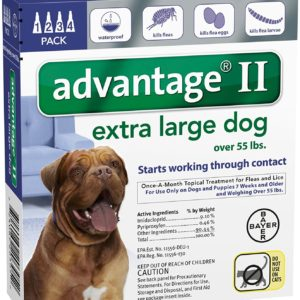 Bayer Animal Health Advantage II Extra Large Dog 4-Pack